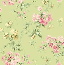 Wallpaper Inspired By Country French And English Springtime Style