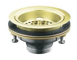 kohler k 8799 af duostrainer r sink strainer less tailpiece vibrant