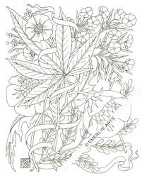 Adult Coloring Page Got Leaf Printable Pot Leaf Coloring Page ...