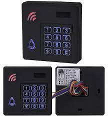 IP68 su geçirmez erişim kontrol sistemi açık RFID tuş takımı WG26 erişim  denetleyicisi klavye yağmur geçirmez 10 EM4100 Keyfobs ev için|Erişim  Kontrol Tuş Takımları