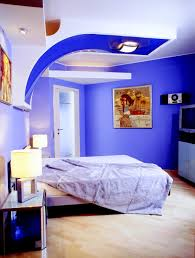 kids bedroom futuristic design of boys bedroom in bright blue and ...