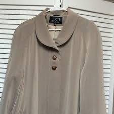 Utex Design Long Coat Beige Utex Design Coat