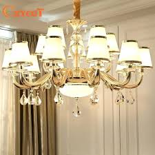 crystal lamp chandelier court style led flush
