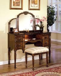 Oak Bedroom Vanity Bedroom Oak Makeup Vanity Tables Jpg Pictures To Pin On Pinterest