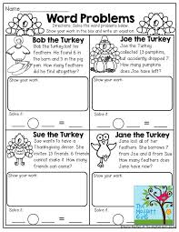word problems read the turkey word problems and solve the equations show your work