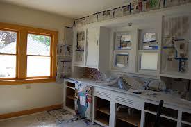 Paint Kitchen Cabinets Gray Painting Kitchen Cabinets Top Coat Travertine Backsplash Removed