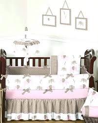 pink and gray elephant crib bedding set elephant mini crib bedding medium size of nursery and pink and gray elephant crib bedding