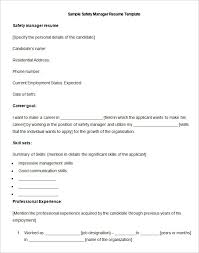resume objectives for managers manufacturing resume template 26 free samples examples format