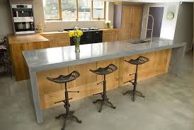polished concrete floor kitchen. Wooden Kitchen With Concrete Worktop From Lovewoodfurniture.co.uk Polished Floor N