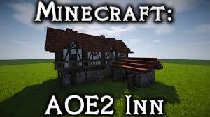 Minecraft Tavern Design Minecraft Aoe2 Eastern European Inn Tavern Tutorial