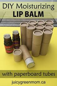diy lip balm recipe with paperboard s