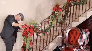 How To <b>Decorate</b> A <b>Garland</b> For Christmas 2019 / Staircase ...
