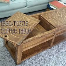 making stuff our lego puzzle coffee table stinkysaurus