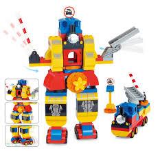 Đồ chơi Smoneo Duplo Lego - Bộ xếp hình lắp ghép Robot - 92 mảnh ghép -  77008 - KidShop