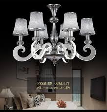 modern led chandelier light stainless steel suspension drop lamp for living dining room led res indoor lighting chandelier for deer antler