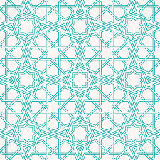 Arabic Patterns Impressive Entwined Modern Pattern Based On Traditional Oriental Arabic