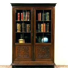 bookcases cherry bookcase with glass doors wood solid bookcases bookc