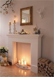 faux fireplace surround for fireplace mantels simplistic ideas improvementara