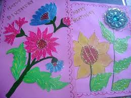 Chart Paper Greeting Card Greeting Cards Making Sulekha Creative