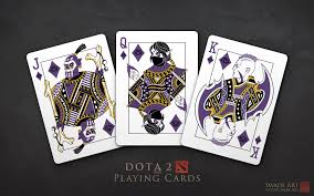 official dota 2 playing cards by swade art album on imgur