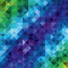 Colorful Mosaic Pattern Abstract Background Vector Illustration