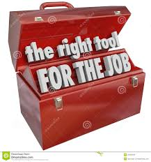 the right tool for the job toolbox experience skills stock images the right tool for the job toolbox experience skills