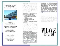 Church Welcome Brochure Samples Welcome Brochure Te Word On Camp Templates Download Webbacklinks Info