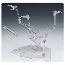 Clear Stands For Display Tamashii Act Trident Plus Clear Action Figure Display Stand 68