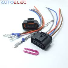 wiring harness repair reviews online shopping wiring harness 2pcs ignition coil 4pin 1j0973724 connector repair kit 1j0 973 724 for a4 a6 rs4 rs6 a8 vw passat audi adapter wiring harness