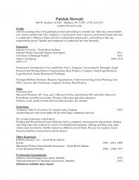 Legal Secretary Resume Template Saneme