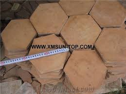 handmade terracotta red tiles ceramic tile antique tile hexagon shape floor tiles terracotta pavers