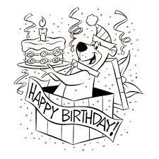 Buon Compleanno 6 Anni Disegni Da Colorare