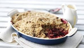 Image result for apple crumble
