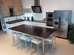 Table De Cuisine Moderne On Decoration D Interieur Charming 2 En Table De Cuisine Moderne