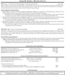 Program Manager Resume Sample It Program Manager Resume Sample Job