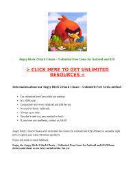 Angry Birds 2 Hack Cheats 2021 – Unlimited Free Gems Android / iOS by  Mortal Kombat Hack Mod Português 2021 – Almas Grátis e Infinitas - issuu