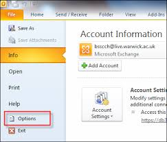 Creating An Email Signature In Outlook 2010