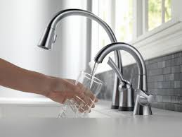 Delta Touch Kitchen Faucets Kitchen Faucets Touch Kitchen Faucet With Kohler K 10430 Cp