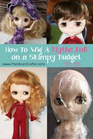 how to make a wig cap for a blythe doll