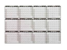 dry erase 2018 full year calendar decal