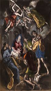 el greco the adoration of the shepherds 1612 14 museo del