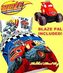 monster jam bedding monster truck bedding sets blaze and the monster machines bedding boys blue red