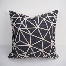 24X24 Big Black cushion covers for throw pillows large sofa