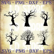Halloween large dead tree svg file. Dead Tree Svg Witch Svg Cute Halloween Svg By Ldstoresvg On Zibbet