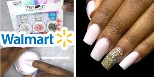 diy testing dip powder nail kit from