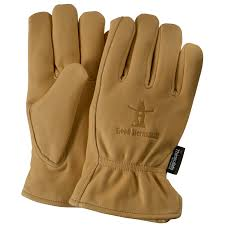 custom imprinted lined premium grain cowhide leather work gloves from promotional gloves