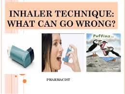 Common Mistakes With Inhalers