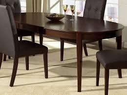 dark wood dining room set. Dining Room Oval Table For Spacious Interior Dark Wood Set
