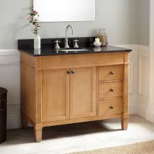 Marilla Oak Vanity Bathroom - Oak bathroom vanity cabinets