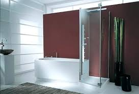 modern bathtub shower combo modern dollhouse furniture pods single vanity bath unit